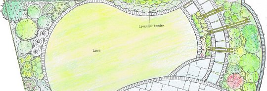 Garden Designs and Ideas: Designer Planning, Features, Makeovers & Front / Small Garden Landscaping - Hitchin Hertfordshire