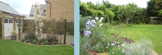 Raised Flower Beds: Garden Border Edging & Shrub Planting - Hitchin Hertfordshire